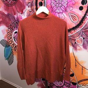 Ruby Moon Mock Neck Long Sleeve Sweater